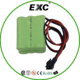 AA 2000mAh 3.6V NIMHの充電電池のパックをカスタマイズしなさい