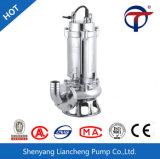 bomba submergível do material da água de esgoto Pump/Ss do aço inoxidável de 750W 2Inch