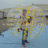 El TPU de buena calidad de la burbuja del fútbol, de burbujas bola Zorb para adultos D5098