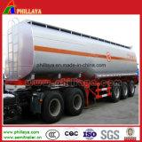 Doppelter Wellen-Luft-Aufhebung-Kraftstofftank-Aluminiumlegierung-Tanker-Schlussteil