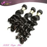 Волосы Peruvian девственницы оптовой продажи 100% людские сырцовые