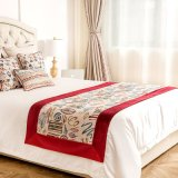 大型の極度の柔らかいビロードのホテルのベッドのランナー
