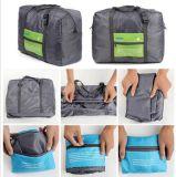 携帯用防水折られた旅行袋の家の袋はキルトの記憶袋に着せる