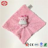귀여운 분홍색 암소 파란 코끼리 아기 배려 목욕탕 세척 담요