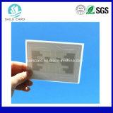 Etiqueta del parabrisas de RFID para el sistema del estacionamiento de Cashless de los mecanismos impulsores