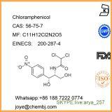 Cloranfenicol farmacéutico de los antibióticos del polvo para el tratamiento CAS 56-75-7 de las infecciones bacterianas