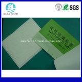 Etiqueta adhesiva del parabrisas RFID de la frecuencia ultraelevada de la lectura del rango largo