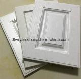 Gloss de PVC color madera diseños de puerta del armario personalizado
