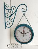Reloj de pared casero del metal del movimiento del reloj de cuarzo de la pared de la decoración
