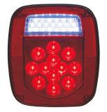 """LED 4"""" 둥근 정지 회전 테일 빛 Tl45"""