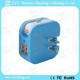 Chargeur de voiture à double port USB avec prise murale (ZYF9113)