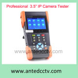 """Video del video segnale del CCTV della rete di TFT di Onvif del IP della macchina fotografica di Poe tenuto in mano 3.5 del tester """""""
