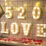 Письма СИД/декор светильника алфавита/номеров СИД для домашнего украшения