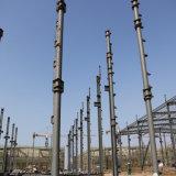 La logistique entrepose, les constructions en acier de Structurel, structure métallique flexible