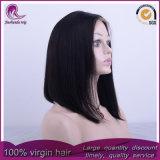 Parrucca brasiliana diritta media del merletto della parte anteriore dei capelli del Virgin di nuovo stile