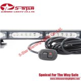 Polizia nera LED Lightbar della cassa dei tubi lineari
