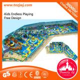 Norme de l'UE Funny Kids Indoor d'équipement de terrain de jeu