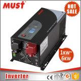 Lcd-reine Sinus-Welle 3000 Watt-Energien-Inverter-Aufladeeinheit