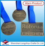 Médailles faites sur commande de sport avec le placage en bronze antique