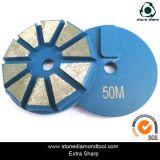 3 polegadas de diamante de moagem de piso de concreto de 80 mm 10 centímetros