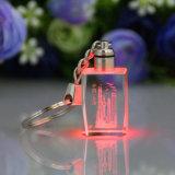 Восхитительное горячее сбывание с по-разному цветом и размером дешевым кристаллический Keychain
