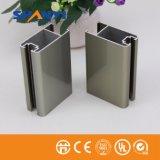Elektrophoretisches Champagne-Aluminiumstrangpresßling-Profil für Fenster-Tür-Industrie