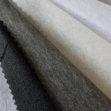 Forro ligado do poliéster de 50% e do vestuário do nylon de 50%
