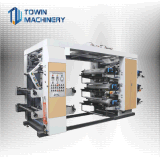 Tissus non tissés Machine d'impression/PP tissu tissé la flexographie par rôle de la machine