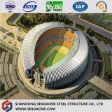 Construction préfabriquée de stade diplôméee par ce modulaire de structure métallique