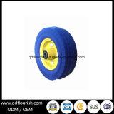 Pneumático do rodízio roda da espuma do plutônio de 6 polegadas para carros do vagão