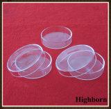 Freie runde untere Silikon-Quarz-Glas-Petrischale mit Deckel