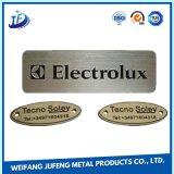 Markplate 또는 금속 꼬리표 또는 유명한 격판덮개 각인 도는 OEM 정밀도 금속 제작 강철