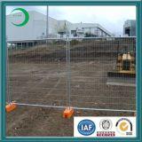 Plastic Concrete Block를 가진 높은 Security Temporary Fence Panel