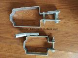 Sola conexión agrícola hardware del alambre del collar del tensor de la pieza galvanizado alrededor del tipo abrazadera de U
