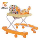 Exportação Foldable do caminhante do bebê do brinquedo do pato da música de China