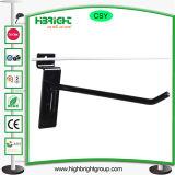 Металлические дисплей супермаркет крюк крюк с плоским экраном дисплея висящих крюки