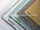 verre Tempered foncé de 6mm Brown comme verre de décoration