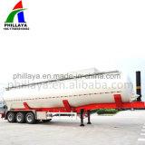 Eixos de Tri Tanque de cimento a granel Semi Carreta para venda