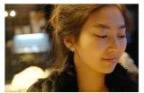 Bijoux Sliver Stud Earrings copo de nieve para la Mujer