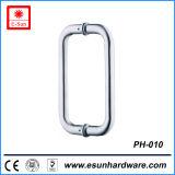 6pouce dos à dos porte de douche en acier inoxydable de tirer la poignée (pH-010)