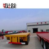 Flatbed Semi Aanhangwagen van de triAs met Goede die Kwaliteit in China wordt gemaakt