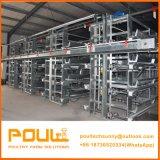 Chambre de poulet automatique de couche de Htype avec des cages et des matériels