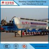 ムギFlour/PVC/Bulkのセメントのための半60cbm炭素鋼のタンカーのトレーラーか粉の材料またはセメント排出