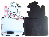 Promozione Paper Fridge Magnet Board con Erasable Pen