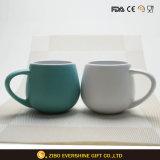 taza de cerámica de la insignia del cliente 330ml para beber