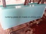 8mmの極度の明確な酸は最上質の/Satin /Frostedのルーバーガラスをエッチングした