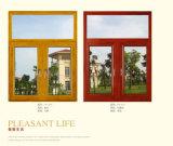 Ceinture coulissante verticale en aluminium Windows, enduit blanc de poudre
