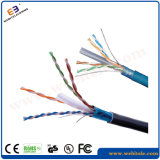 Cabo desencapado do cobre UTP CAT6 do teste 23AWG 0.58mm do solha