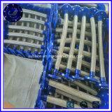 Umsponnenes Metalschlauch-flexibles Verbinder-Abgas-flexibles Gefäß
