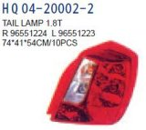 Lampada posteriore per Chevrolet-Optra/Daewoo-Nubira 2003 OEM#96551223/96551224/96551225/96551226/96412804/96412803